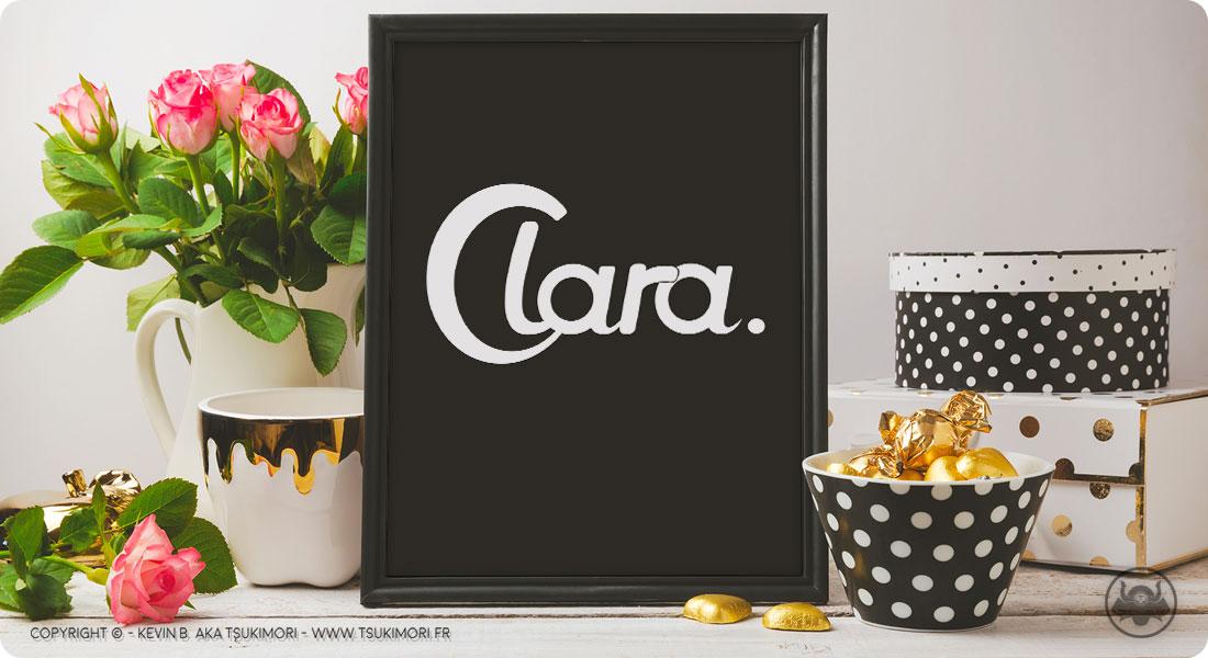 Typographie - Clara - Featured