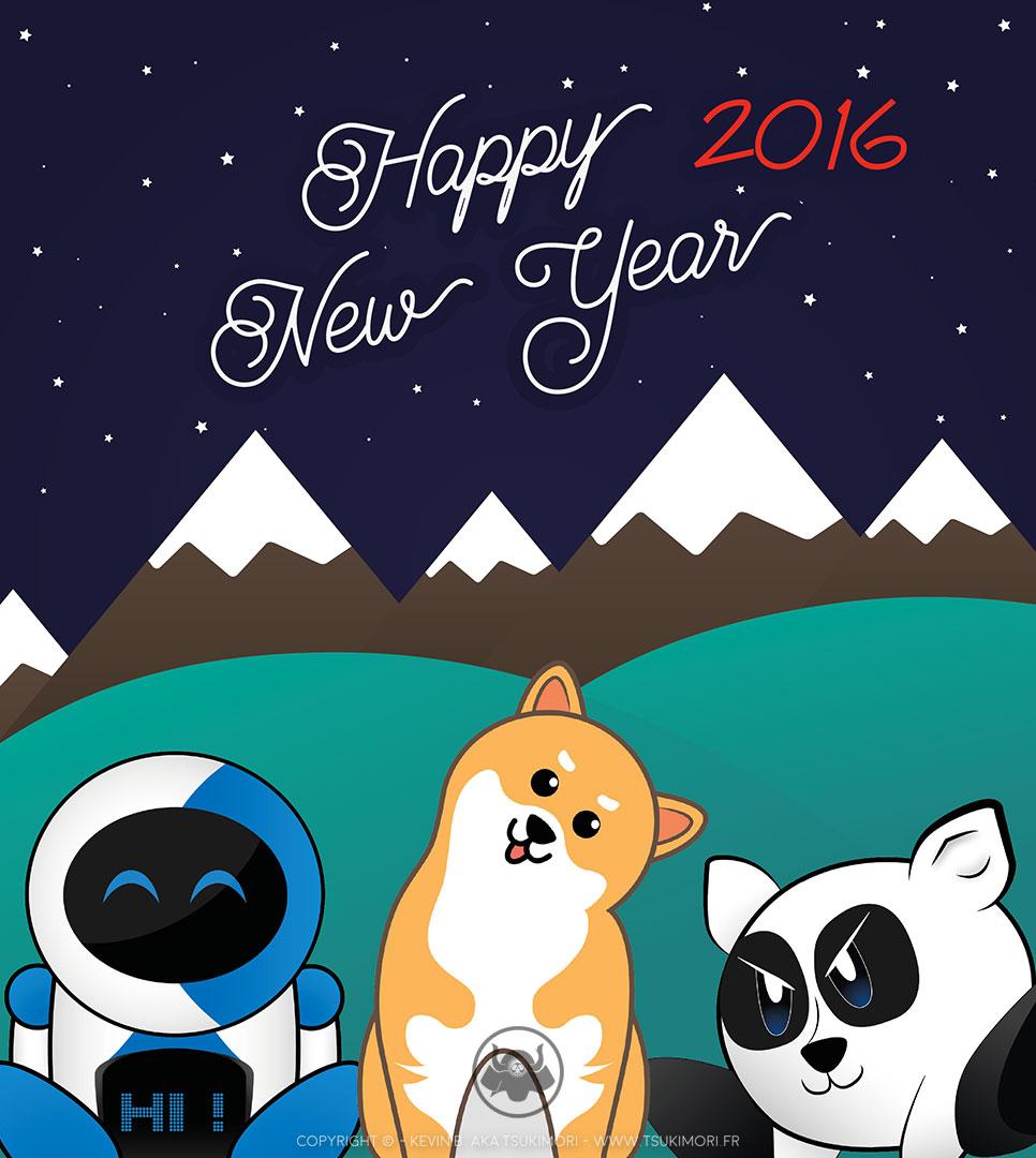 Bonne année 2016 - Featured