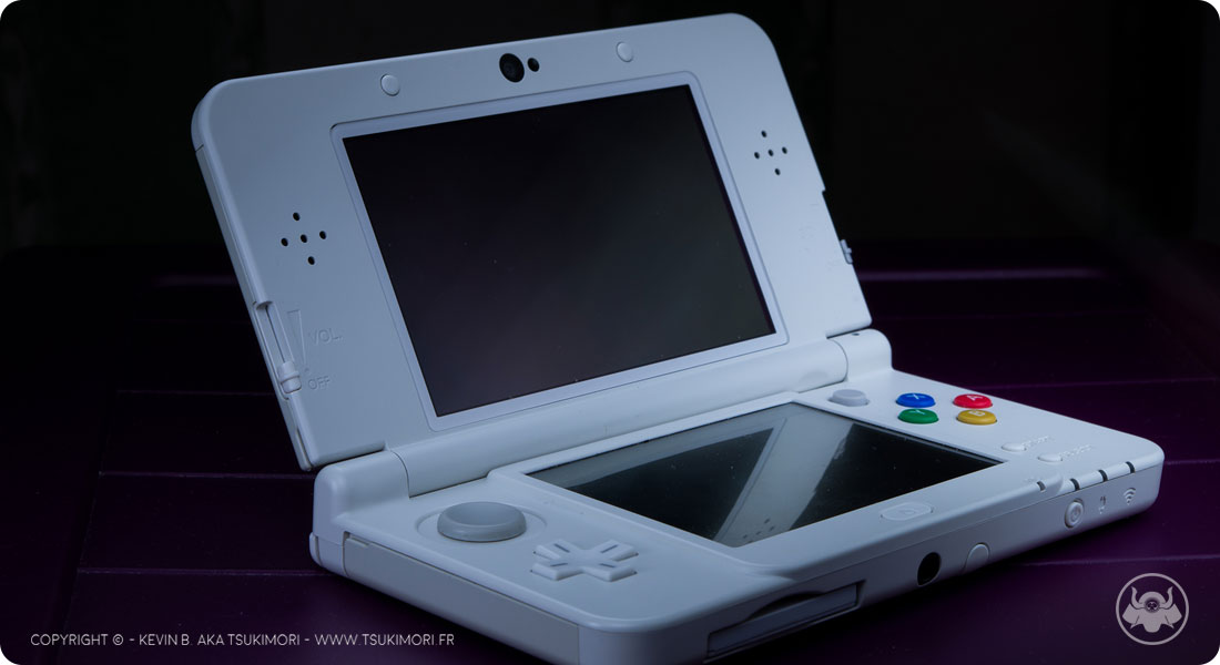Nintendo 3DS - Packshot / Light painting - Featured