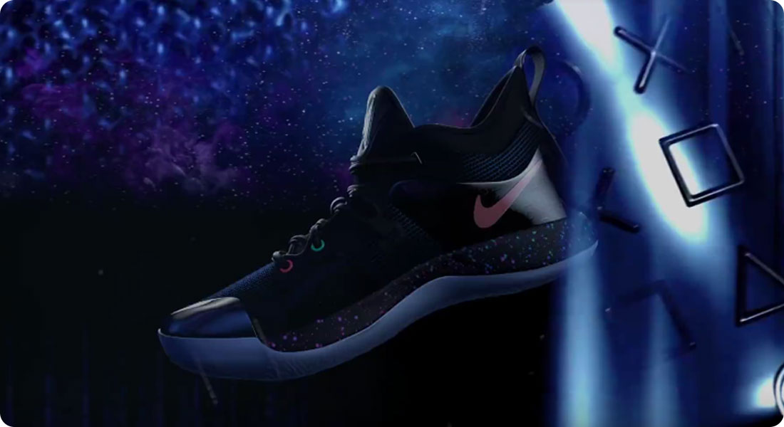 chaussure nike x playstation