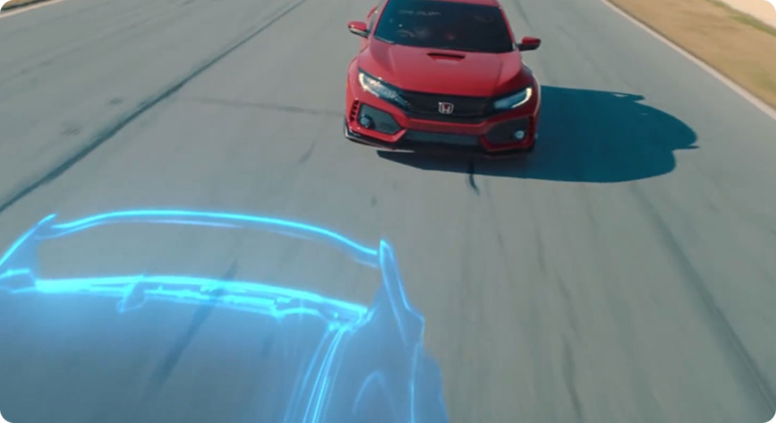 Quand Honda utilise la réalité mixte pour promouvoir une voiture