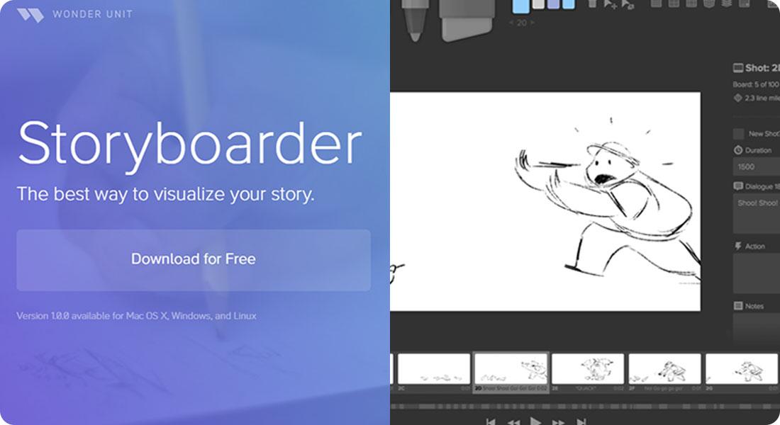 Créer des storyboards grâce à Storyboarder - Featured