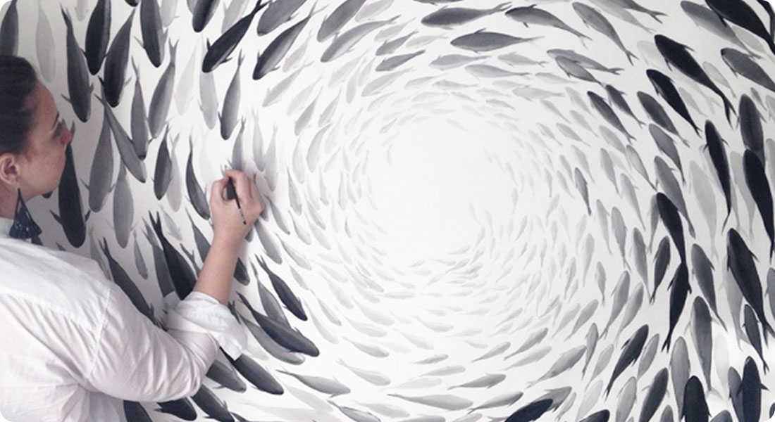 Découvrez les superbes peintures de Niharika Hukku - Featured
