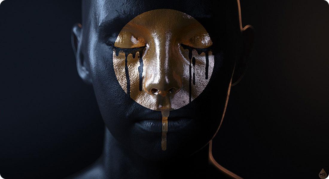 Golden Tears - Une combinaison réussie de l'or et du noir