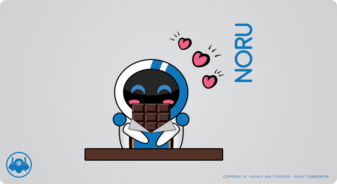 DDD #02 - Noru x Chocolate - Featured