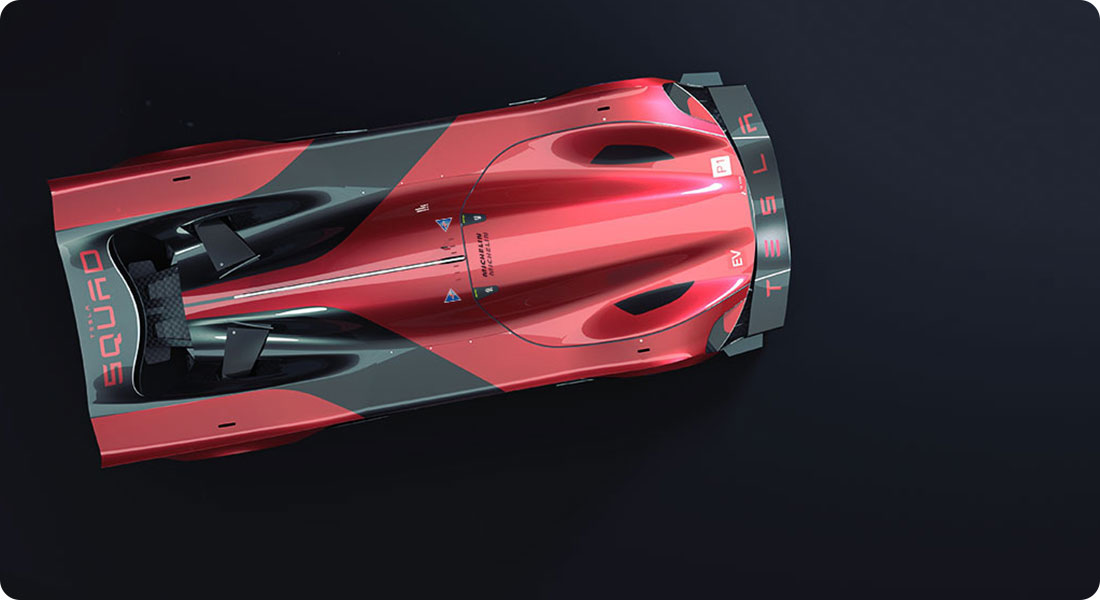 Tesla : Le Mans 2030 par Jeroen Claus et Fabian Breës