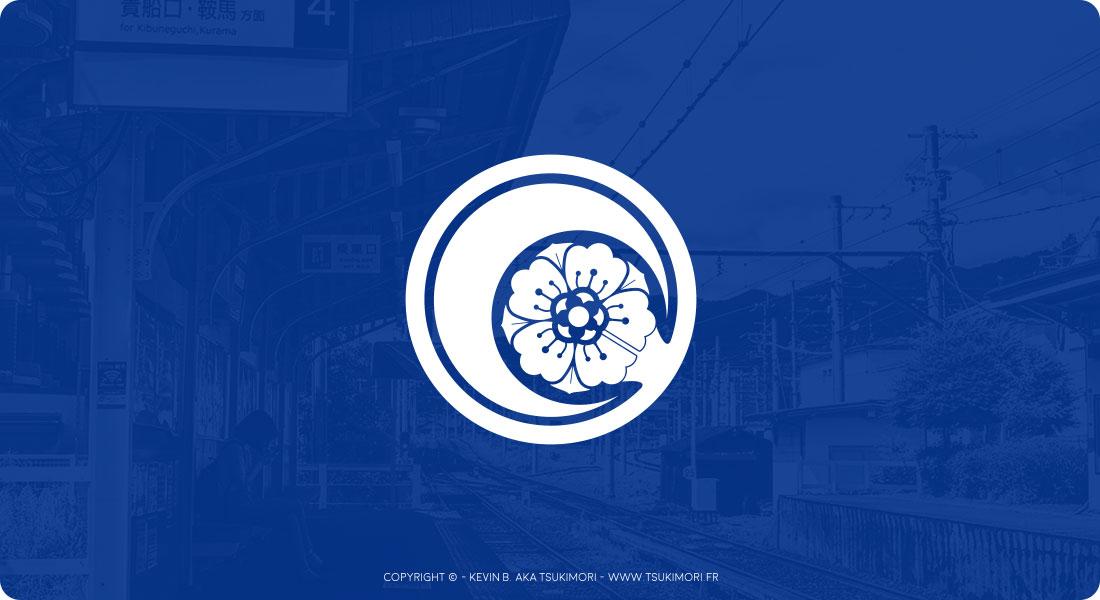 Logo / Kamon - Tsukimori