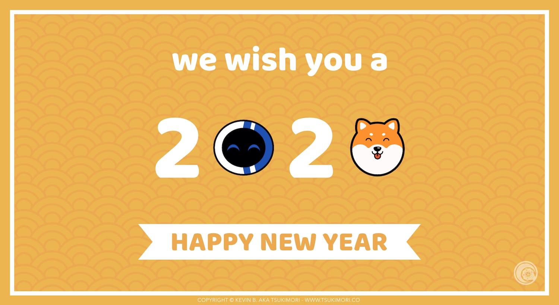 Bonne année 2020 - Featured
